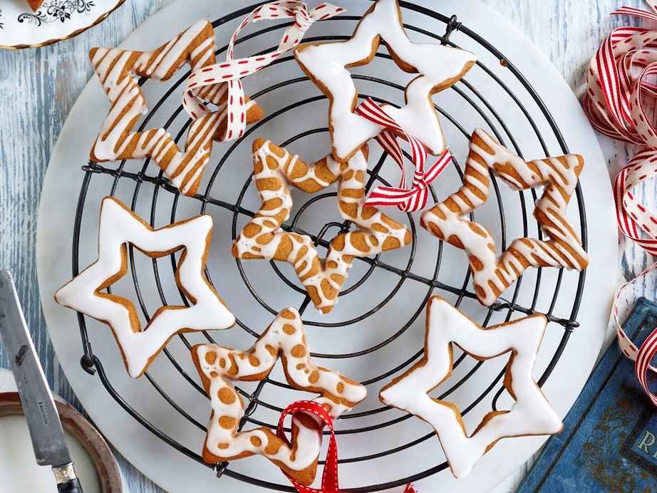 "**[Spiced star biscuits](https://www.womensweeklyfood.com.au/recipes/spiced-star-biscuits-28344|target=""_blank""