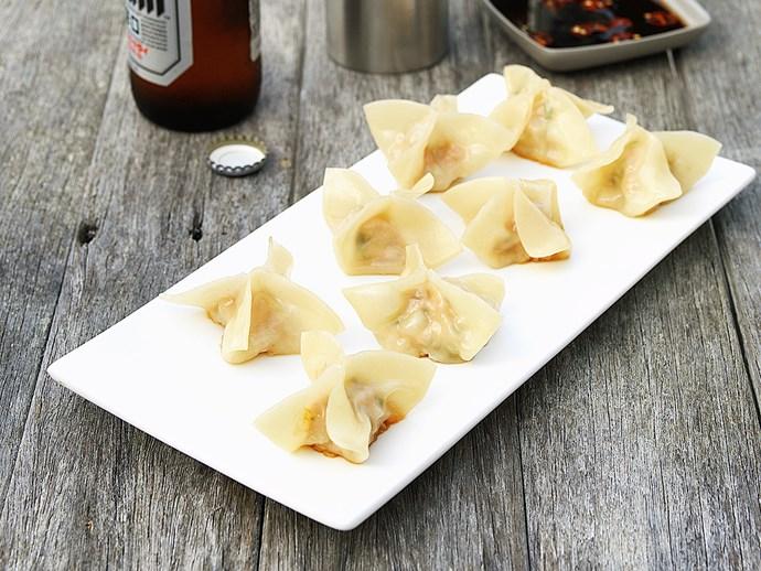pot-sticker dumplings