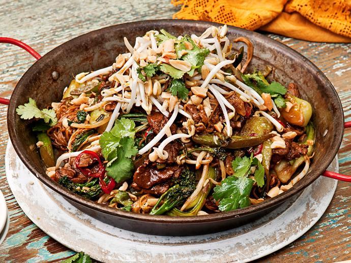 "**[Balinese pork noodles](https://www.womensweeklyfood.com.au/recipes/balinese-pork-noodles-22308|target=""_blank"")**"