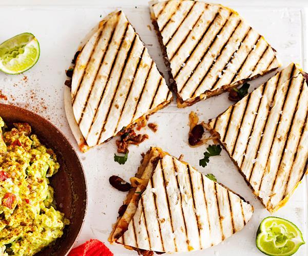 Beef Quesadilla Recipe Food Network