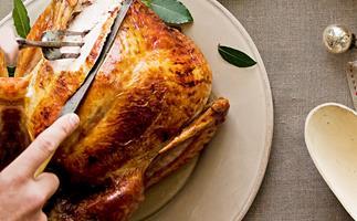 Christmas Turkey with lemon grass stuffing