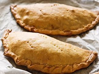 Homemade pastie