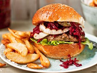 Delicious homemade burger recipes