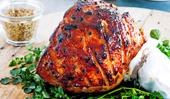 Mouthwatering glazed Christmas ham recipes