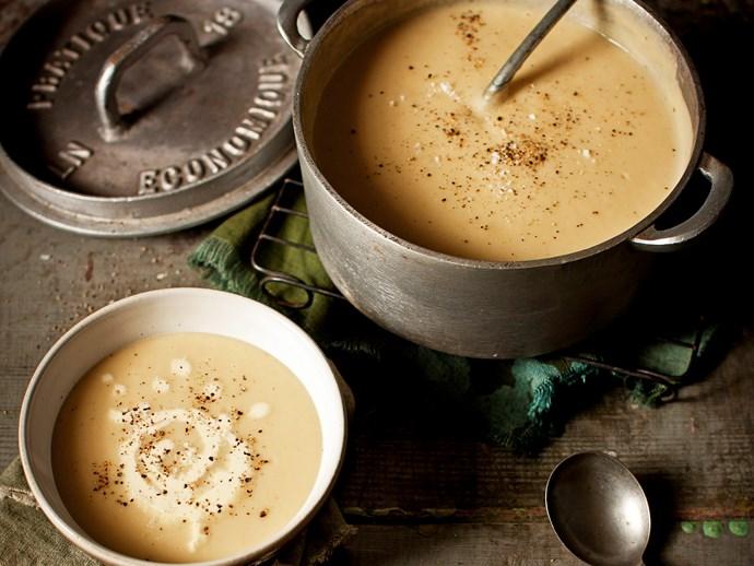 potato and leek soup