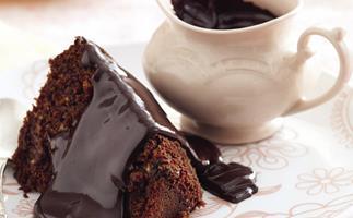 Rum and Raisin Chocolate Pudding