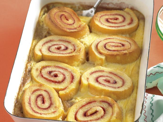 """**[Jam roll pudding](https://www.womensweeklyfood.com.au/recipes/jam-roll-pudding-21752