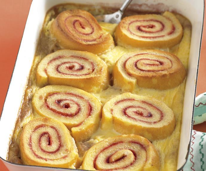 Jam Roll Pudding
