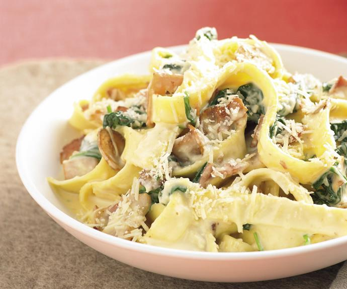 Pasta...and much more - Fettuccine Carbonara