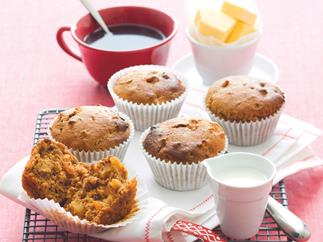 Apricot and Maple Muffins