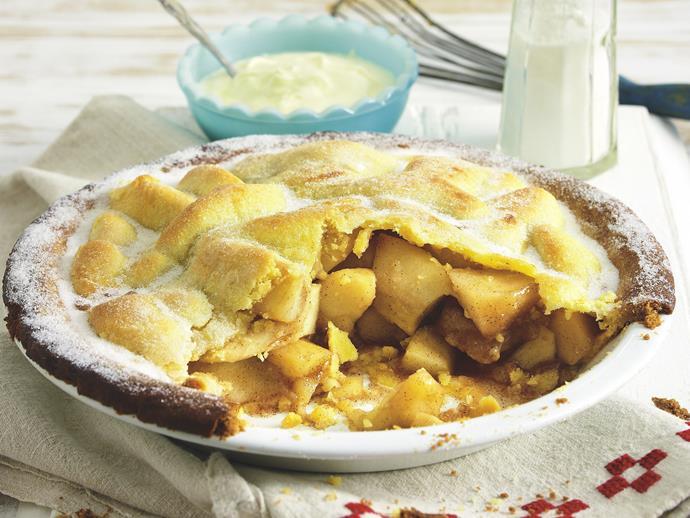 "[Classic apple pie recipe.](http://www.foodtolove.com.au/recipes/apple-pie-5202 target=""_blank"")"