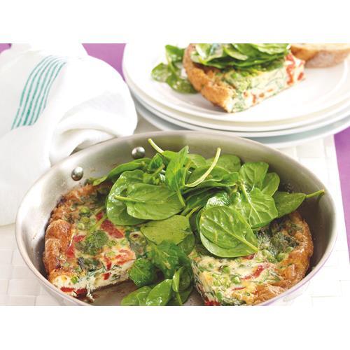 Spinach Frittata Recipe Food Network