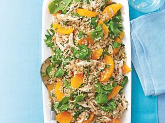 Chicken, Rice and Orange Salad