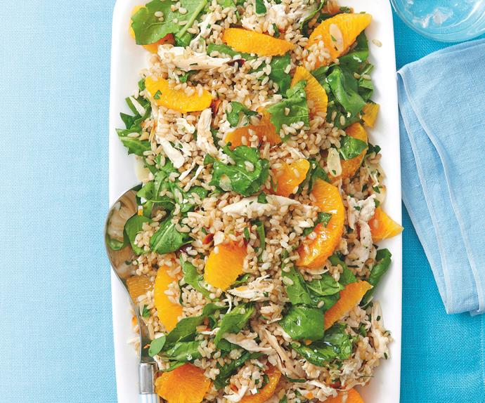 Chicken, Rice and Orange Salad