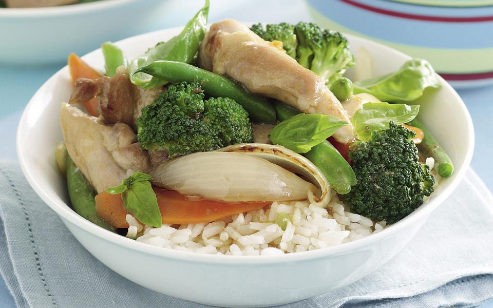 Chicken Green Bean Stir Fry Food Network