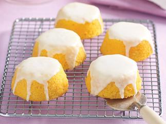 Citrus Polenta Cakes