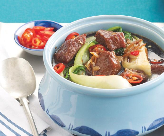 Asian Pork Hotpot