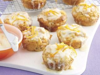 Gluten-free iced muffins