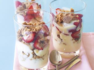Fruity Ginger Crunch Trifle
