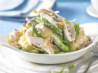 Warm Potato and Chicken Salad