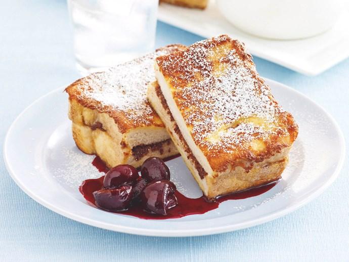 Choc Cherry French Toast