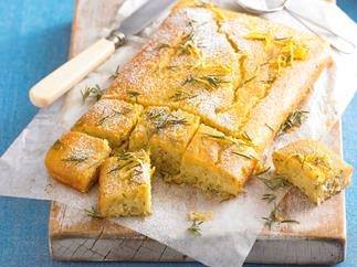 Rosemary and Lemon Slice