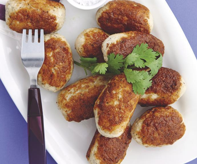 Chicken Kofta with Pumpkin Burghul