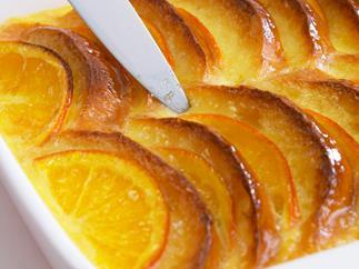 marmalade brioche bread and butter pudding