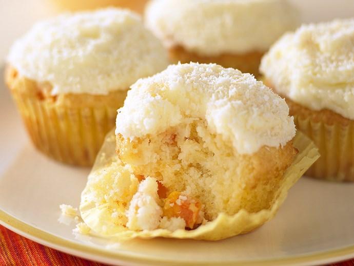 papaya and coconut cupcakes