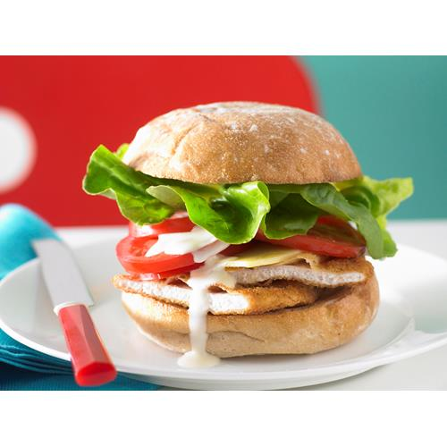 Chicken Schnitzel Burger Recipe Food To Love