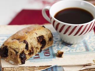 Chocolate and coffee scones
