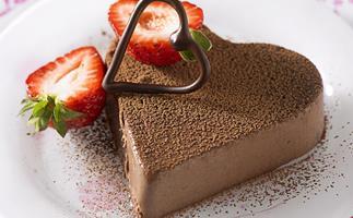Heart-shaped treats for Valentine's Day