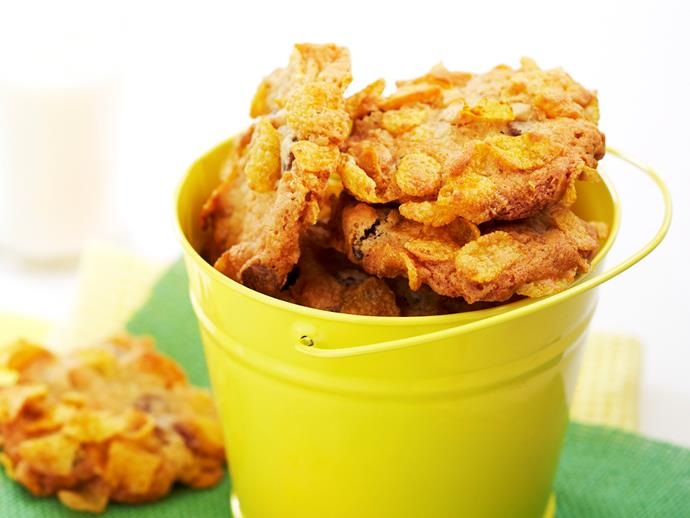 [Cornflake cookies, for recipe click here.](http://www.foodtolove.com.au/recipes/cornflake-cookies-12043)