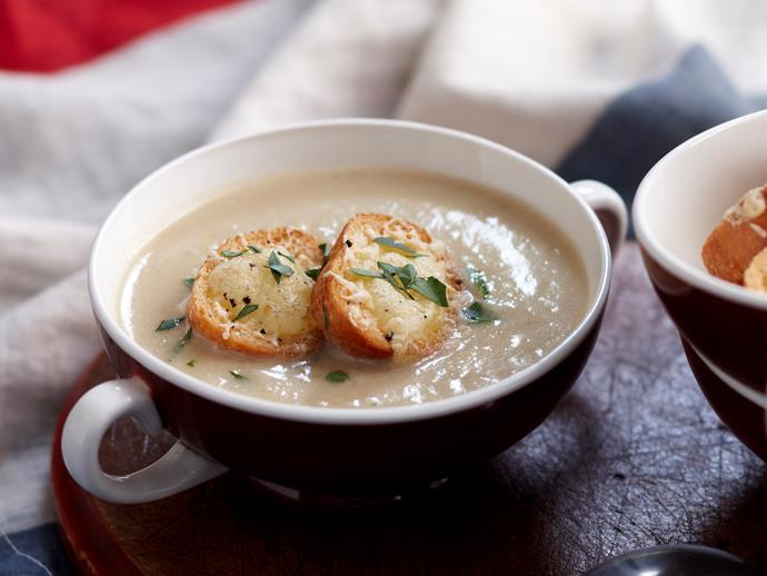 "[Creamy fennel and potato soup](https://www.womensweeklyfood.com.au/recipes/creamy-fennel-and-potato-soup-27320 target=""_blank"")"