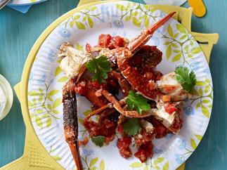 Ginger Chilli Crab