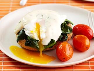 healthy eggs benadict