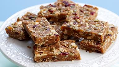 Honey seed bars