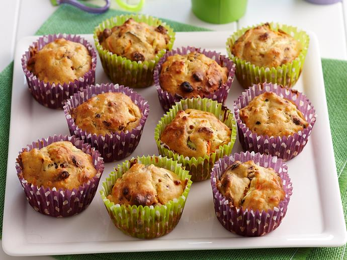 "**[Sugar-free sultana muffins](https://www.womensweeklyfood.com.au/recipes/sugar-free-sultana-muffins-18701|target=""_blank"")**  These light and fluffy muffins are naturally sweetened with dried sultanas, making them a perfect healthy lunchbox snack for school and work."