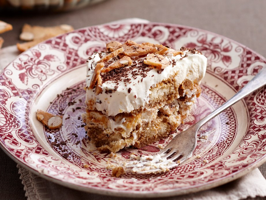 """If you're looking to take your tiramisu that one step further then the [kahlua almond tiramisu](https://www.womensweeklyfood.com.au/recipes/kahlua-almond-tiramisu-18702