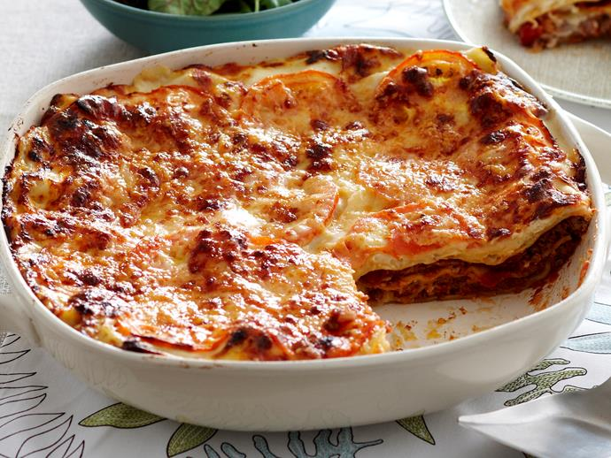 "Nothings beats a [classic beef lasagne](https://www.womensweeklyfood.com.au/recipes/lasagne-7227|target=""_blank""); dish this family favourite up tonight for a dinner that will have everyone coming back for seconds."