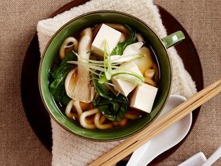 Miso udon soup