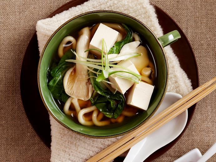 "**[Miso udon soup](https://www.womensweeklyfood.com.au/recipes/miso-udon-soup-18805|target=""_blank"")**  Packing a classic savoury Japanese punch, this warming and nourishing miso udon soup is head and shoulders above any other 'just add hot water' concoctions you can buy."
