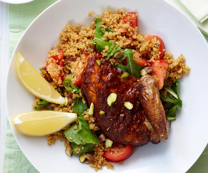 Roast Moroccan Chicken