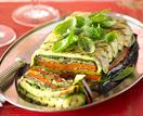 Roast vegetable terrine