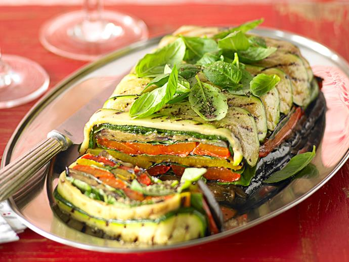 "**[Roast vegetable terrine](https://www.womensweeklyfood.com.au/recipes/roast-vegetable-terrine-28215|target=""_blank"")**  This vegetarian terrine is as tasty as it is colourful, packed full with char-grilled vegies and hints of garlic throughout."