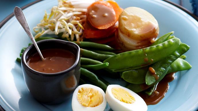 Steamed vegetable Gado Gado