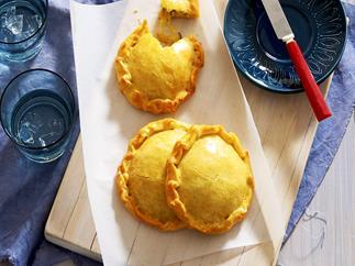 Tuna and corn pies