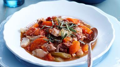Turkey and vegetable casserole