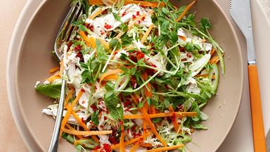 Vietnamese chicken coleslaw