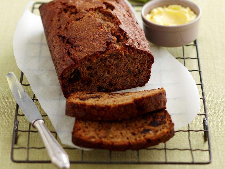 "**[Zucchini and walnut loaf](https://www.womensweeklyfood.com.au/recipes/zucchini-and-walnut-loaf-25959 target=""_blank"")**"